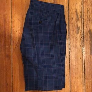 Wool and Linen Blend J. Crew Plaid Pant 00